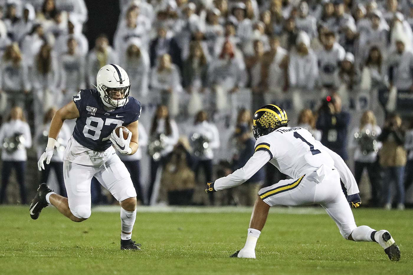 Penn State tight end Pat Freiermuth says he will remain with Nittany Lions for 2020 season
