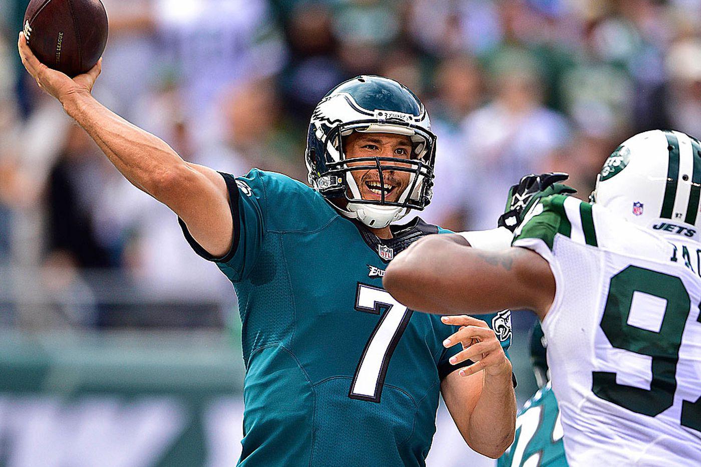 Eagles' Sam Bradford: Longball will come to pass