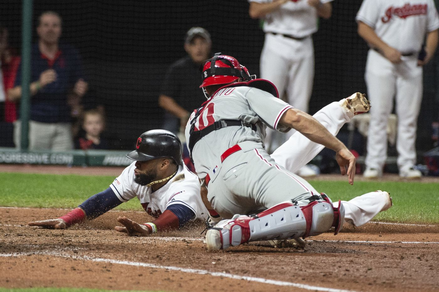 Phillies routed by Indians, pushed to the brink of wild-card elimination