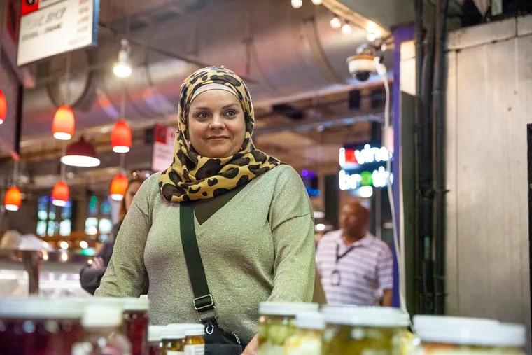Amina Aliako opened her day cart, Amina's Foods, at Reading Terminal Market Sept. 20.