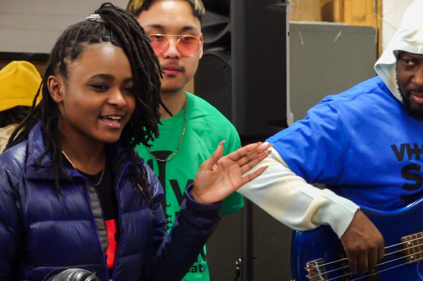 Wyclef Jean visits South Philadelphia High School, announces music technology grant