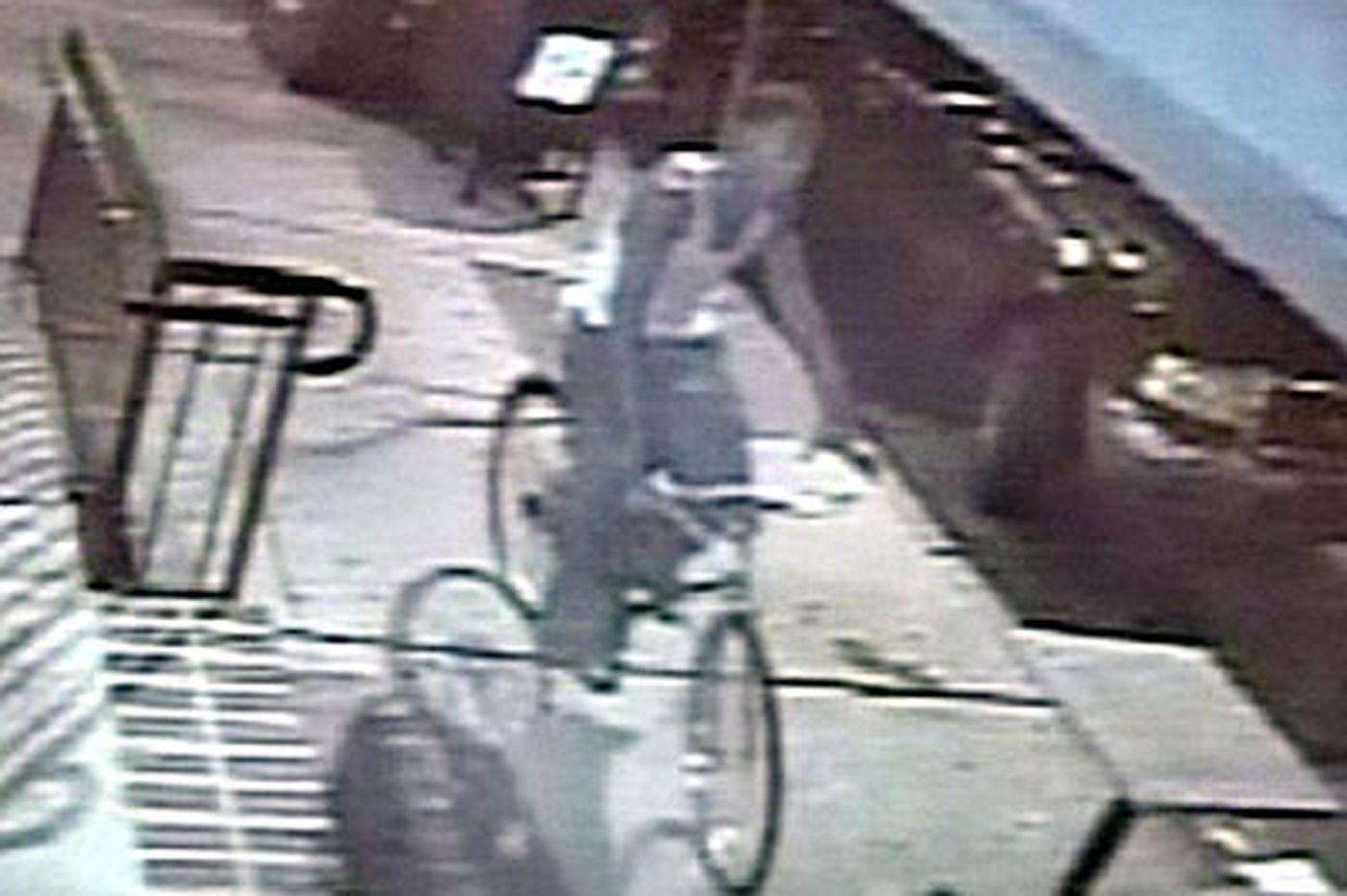 'Person of interest' was riding a bike