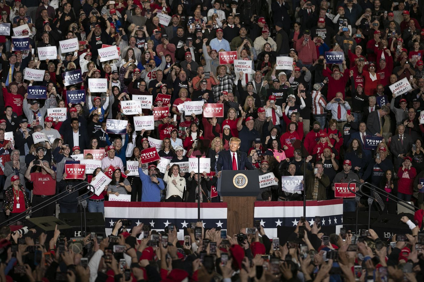 Costly presidential campaign rallies leave cities wondering who's paying the bill