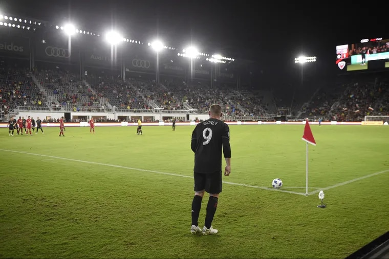 Thanks to Wayne Rooney, D.C. United hasn't lost in Major League Soccer since the Philadelphia Union beat them in late August.