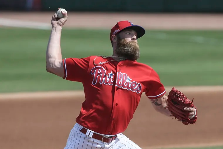 Archie Bradley is a big part of the Phillies' revamped bullpen that has been so impressive during spring training.