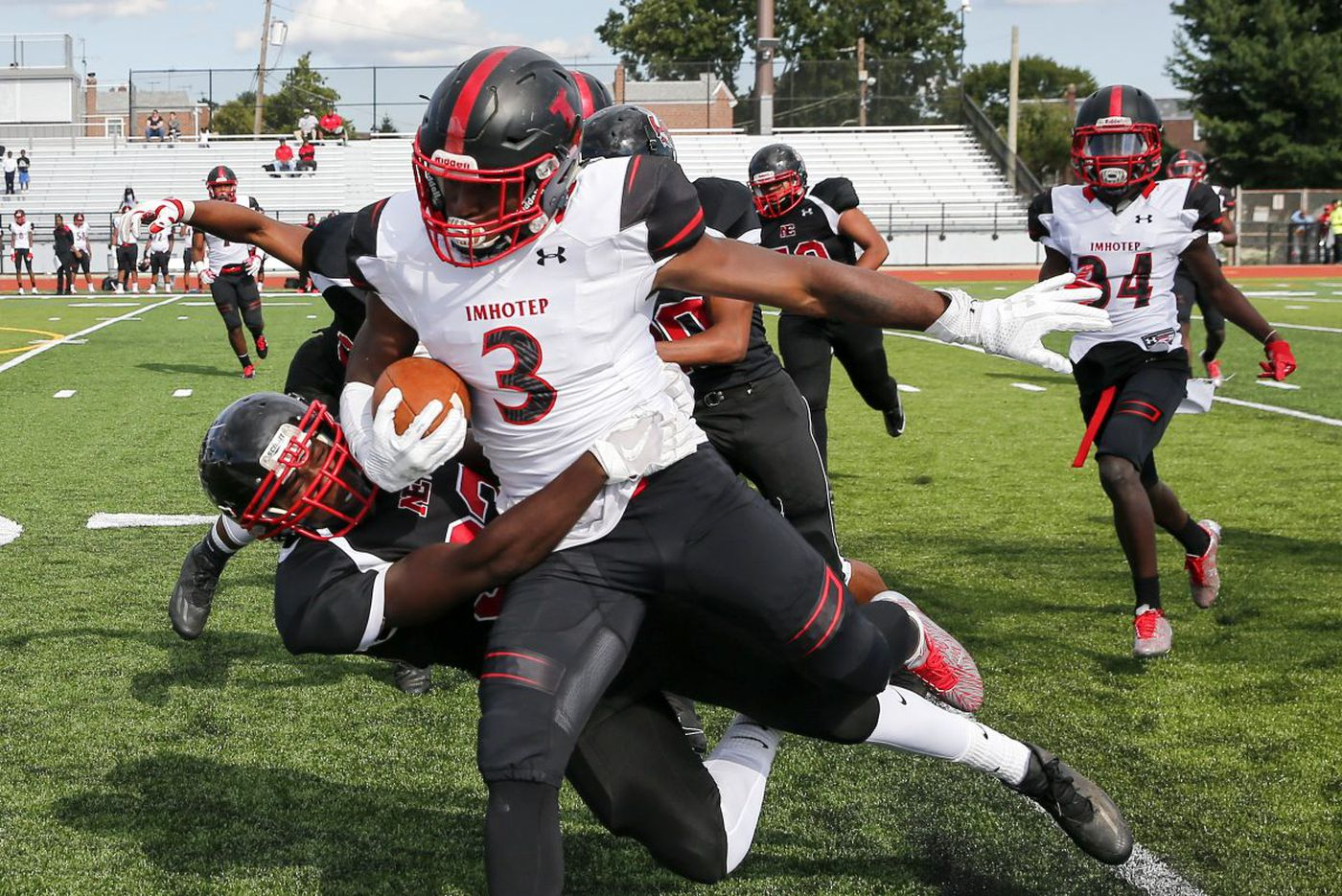 Ex-Imhotep standout Isheem Young to appear in court on robbery charge
