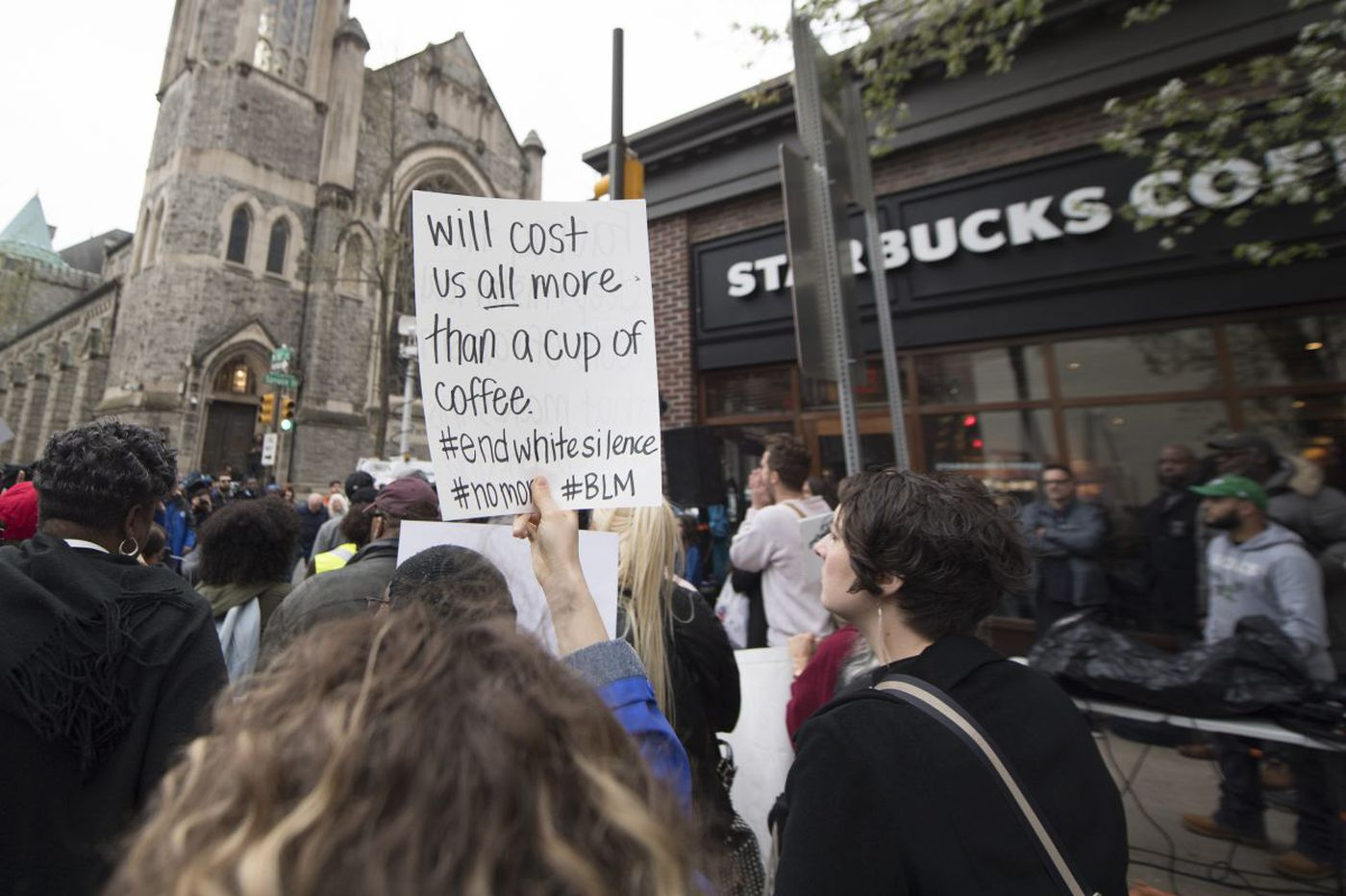 Starbucks bathrooms will be open to everyone following arrest of two black men in Philadelphia