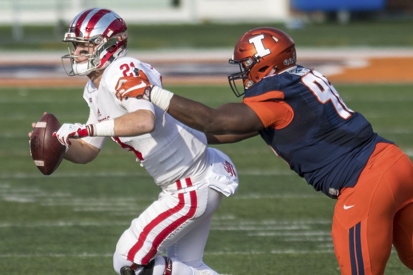 West Catholic grad Tymir Oliver will try to help Illinois stop Penn State's offense