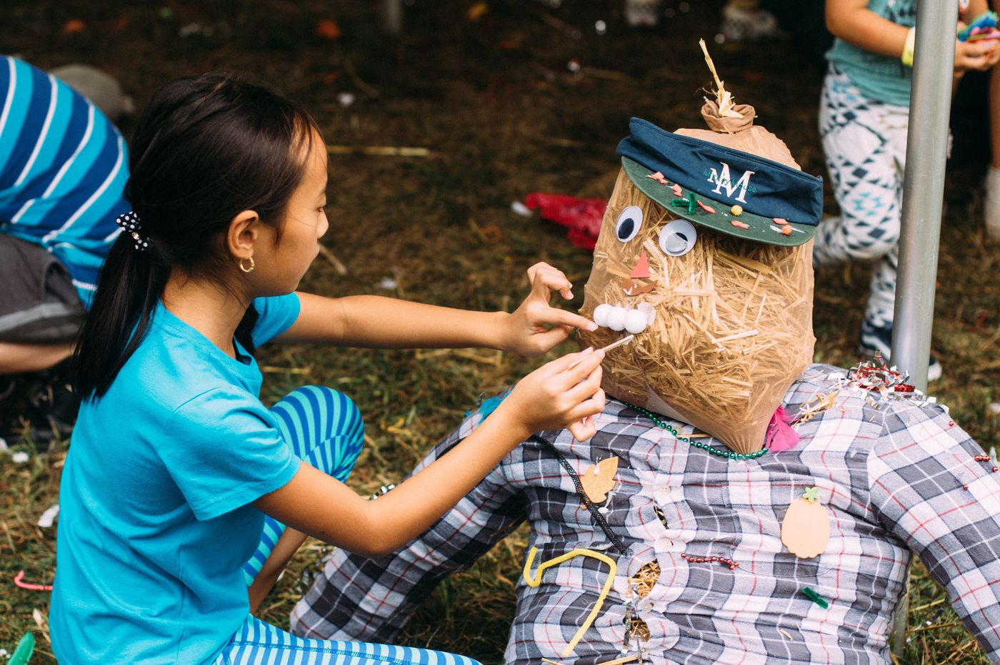 Philly kids and their teacher-parents both need a break. How about a hike? Or a scarecrow build?
