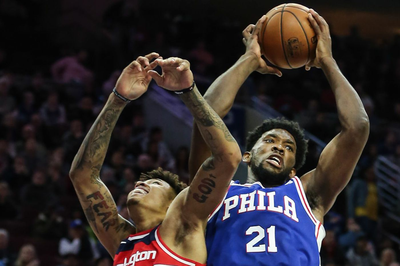 Sixers' Joel Embiid sidelined with back tightness