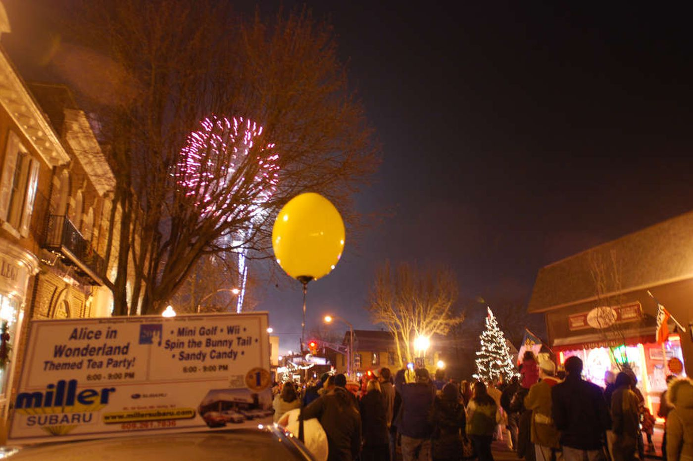 Burlington County celebration to ring in 2012