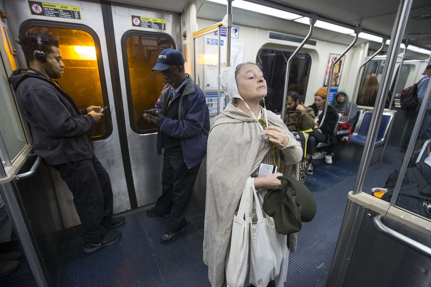 Riding SEPTA with Betsy Ross: How Philly's most iconic woman gets to work