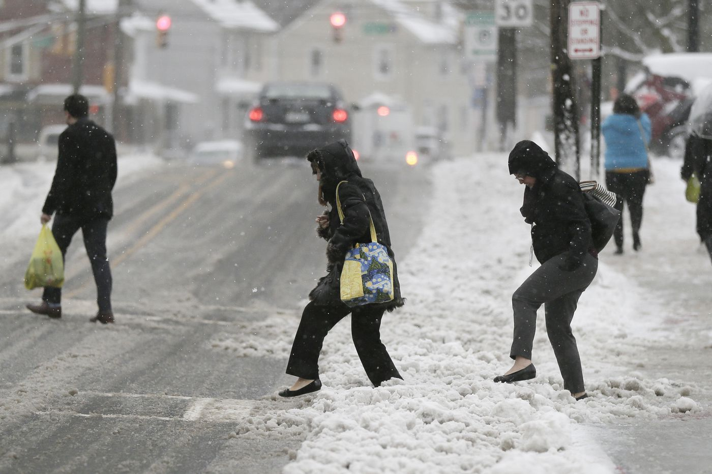 Surprise snowstorm truly a rarity. Nothing like it in 65 years in Philly.