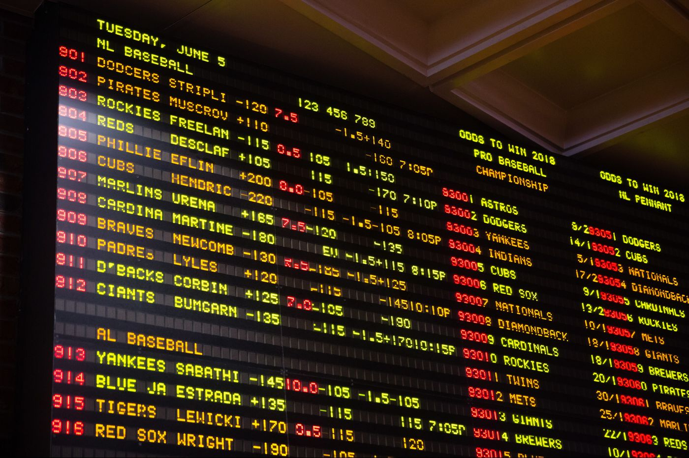 New Jersey legislature passes sports-betting law. Could betting start Friday?