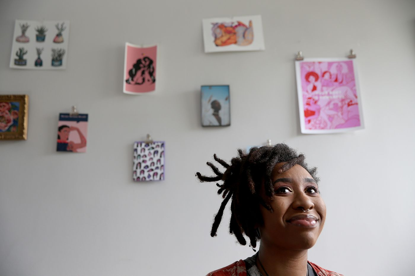 Meet UArts' Loveis Wise, 23, who just illustrated the cover of the New Yorker