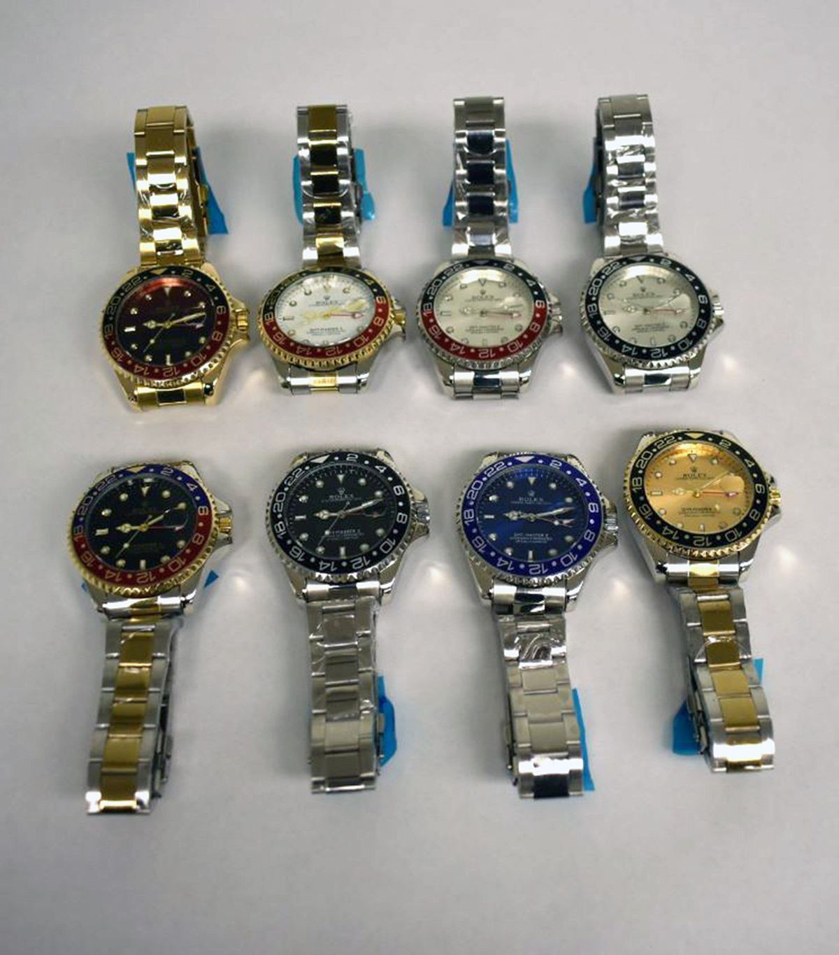 Fake Rolex watches worth $100K seized in Philly