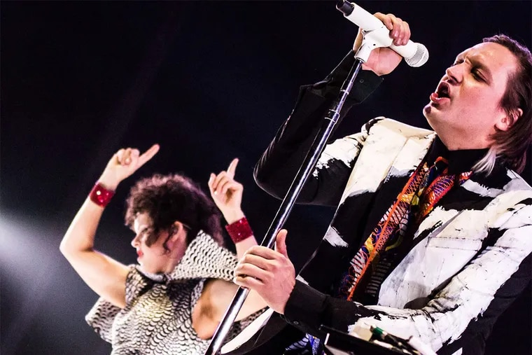 """Arcade Fire, taken in 2014. """"I think it's a good way to get people who might not theoretically realize what they've captured to understand its cultural significance,"""" Sikich said of the project."""