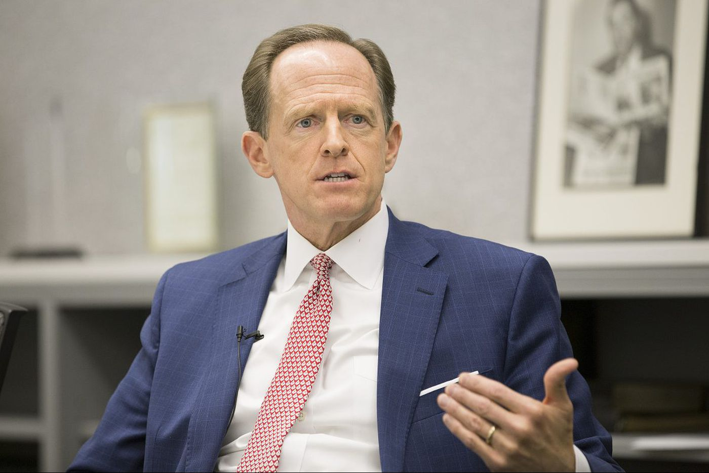 After Florida school shooting, Pat Toomey to press background check bill again