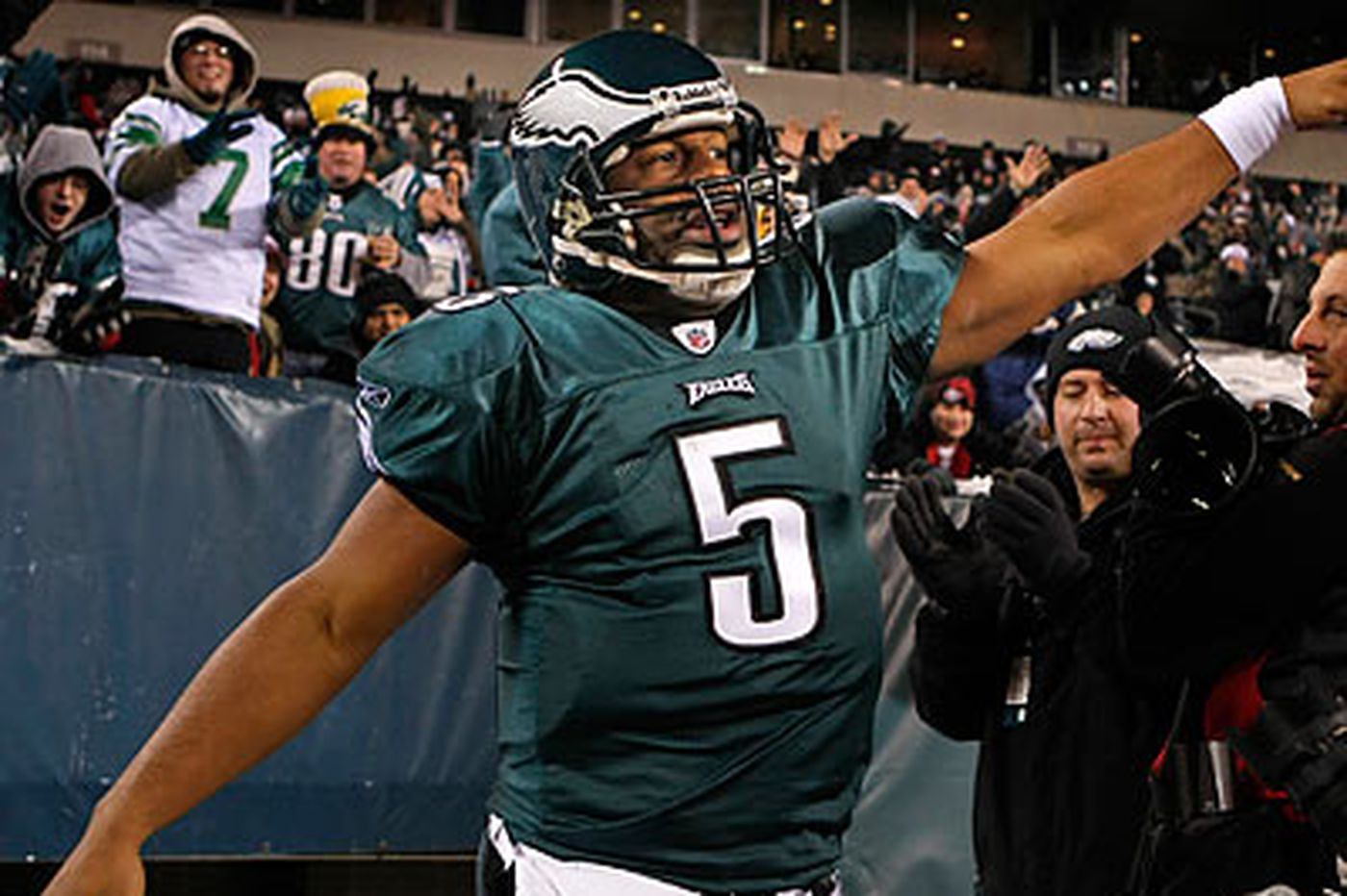 Rich Hofmann: Say what you will, McNabb is able to get 'er done