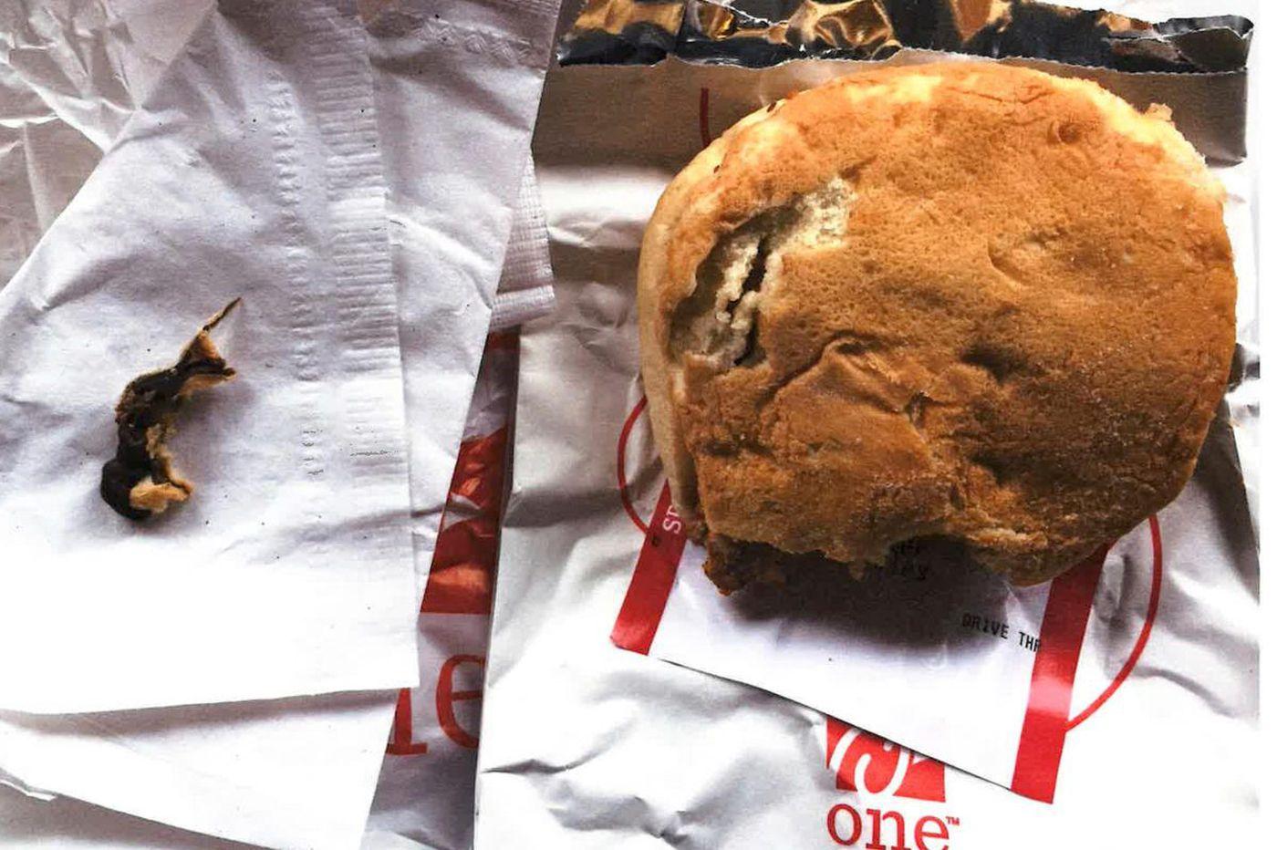 Bucks woman: Dead rodent baked into my Chick-fil-A sandwich