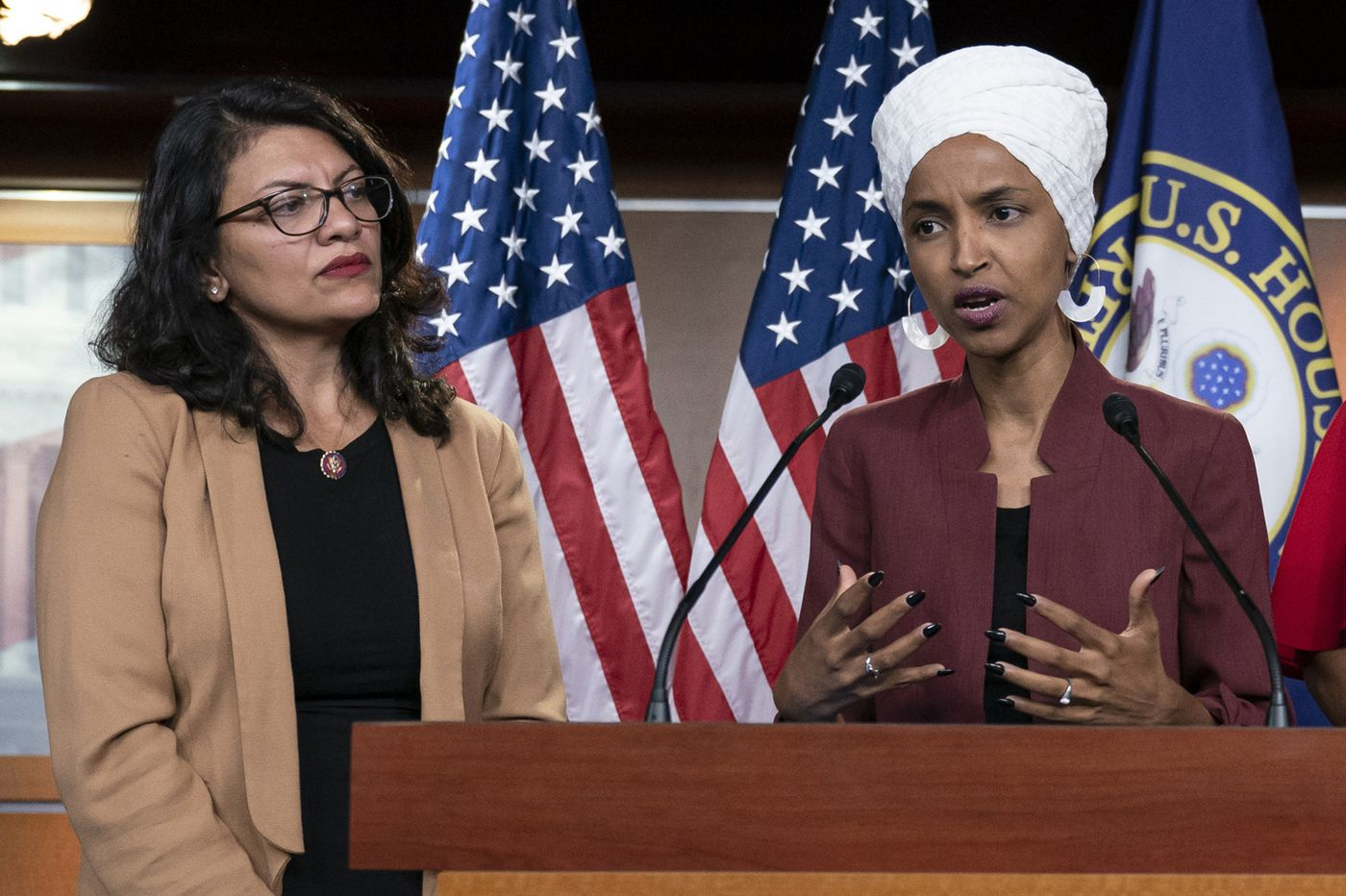 Reps. Ilhan Omar and Rashida Tlaib to discuss Israel, Palestine travel restrictions