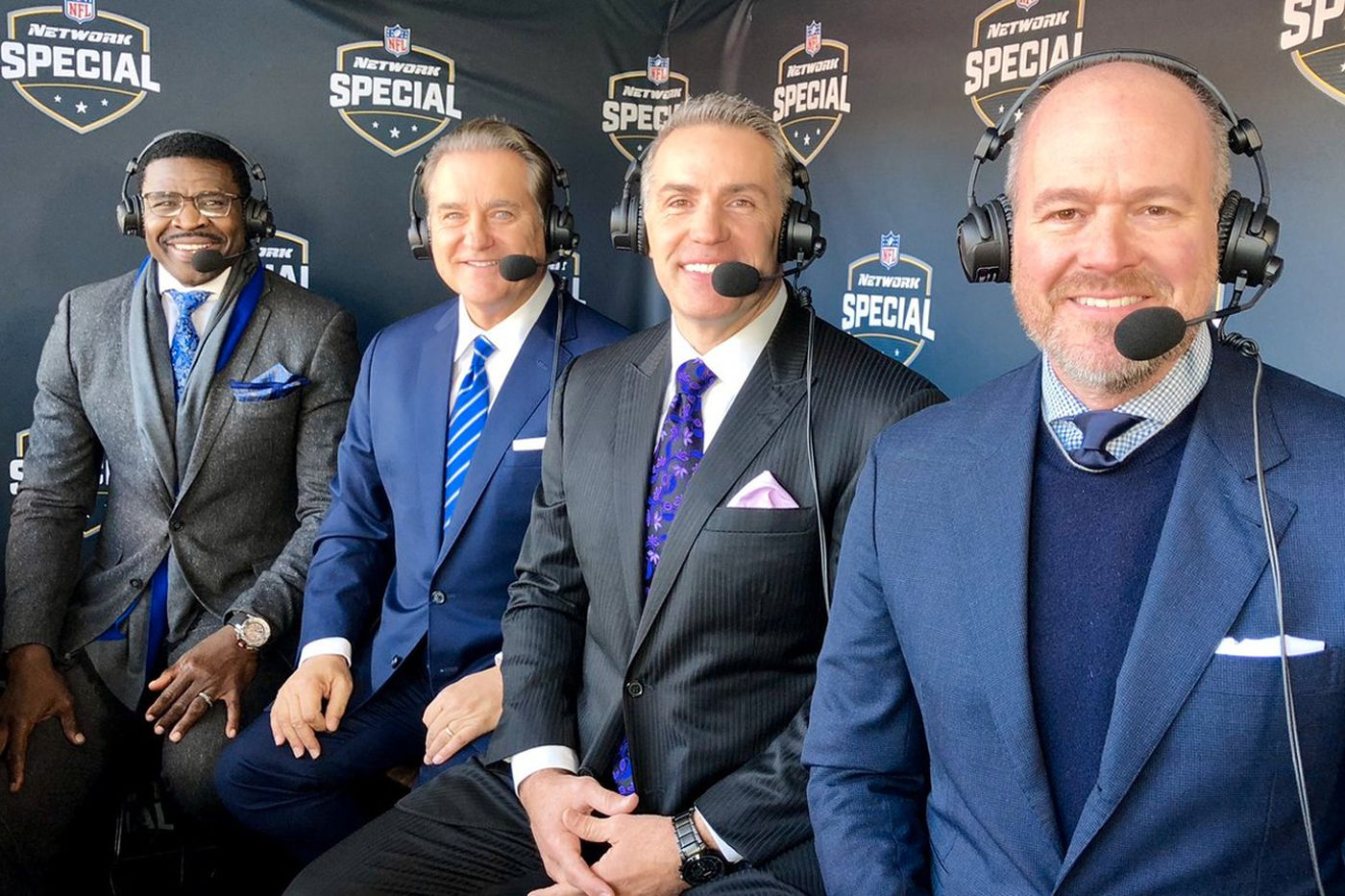 NFL Network's 4-man booth for Eagles-Jaguars went so well, it could be back next season