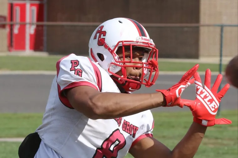 Penns Grove junior Tyreke Brown leads South Jersey in touchdown catches with 13.
