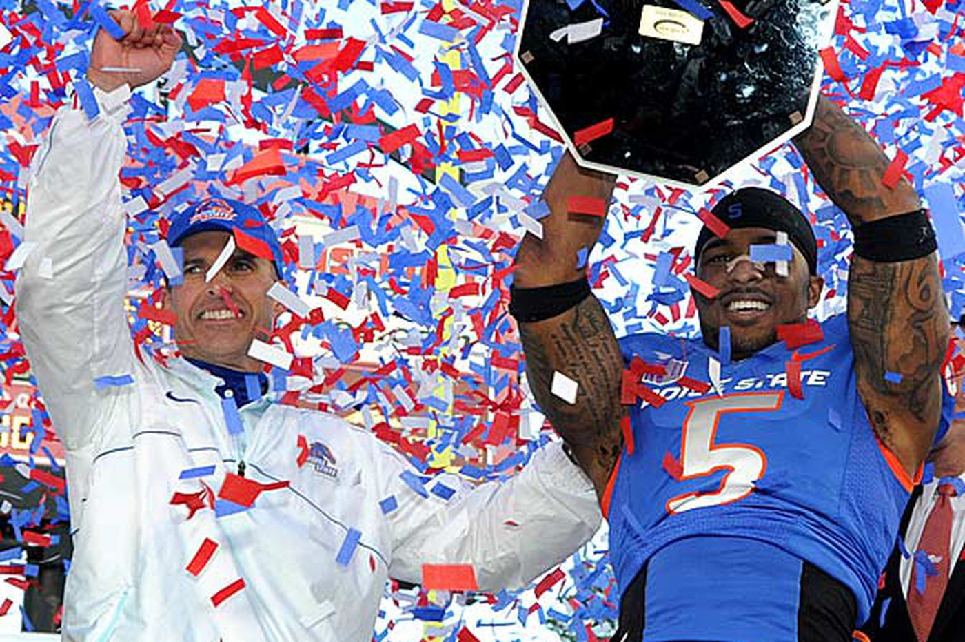 Sports in Brief: Boise St. wins Vegas Bowl