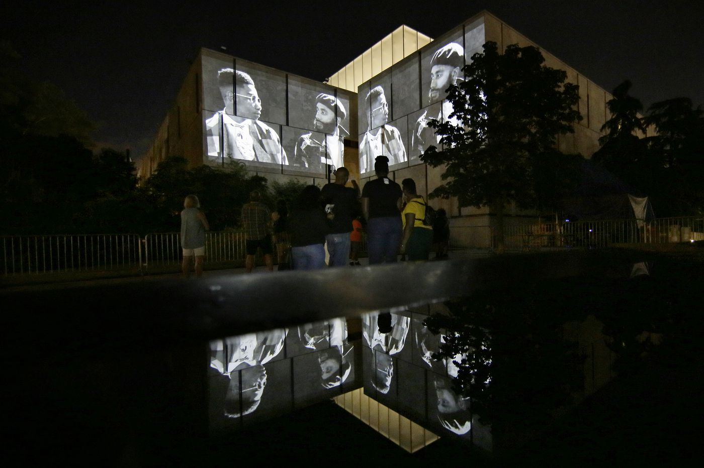 The Barnes honors Black fathers with a unique outdoor exhibit
