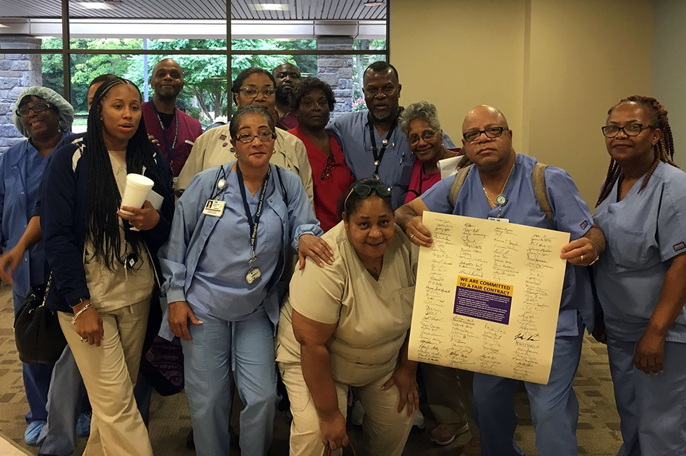 With new contract, Chestnut Hill Hospital workers won't have to travel hours for health care