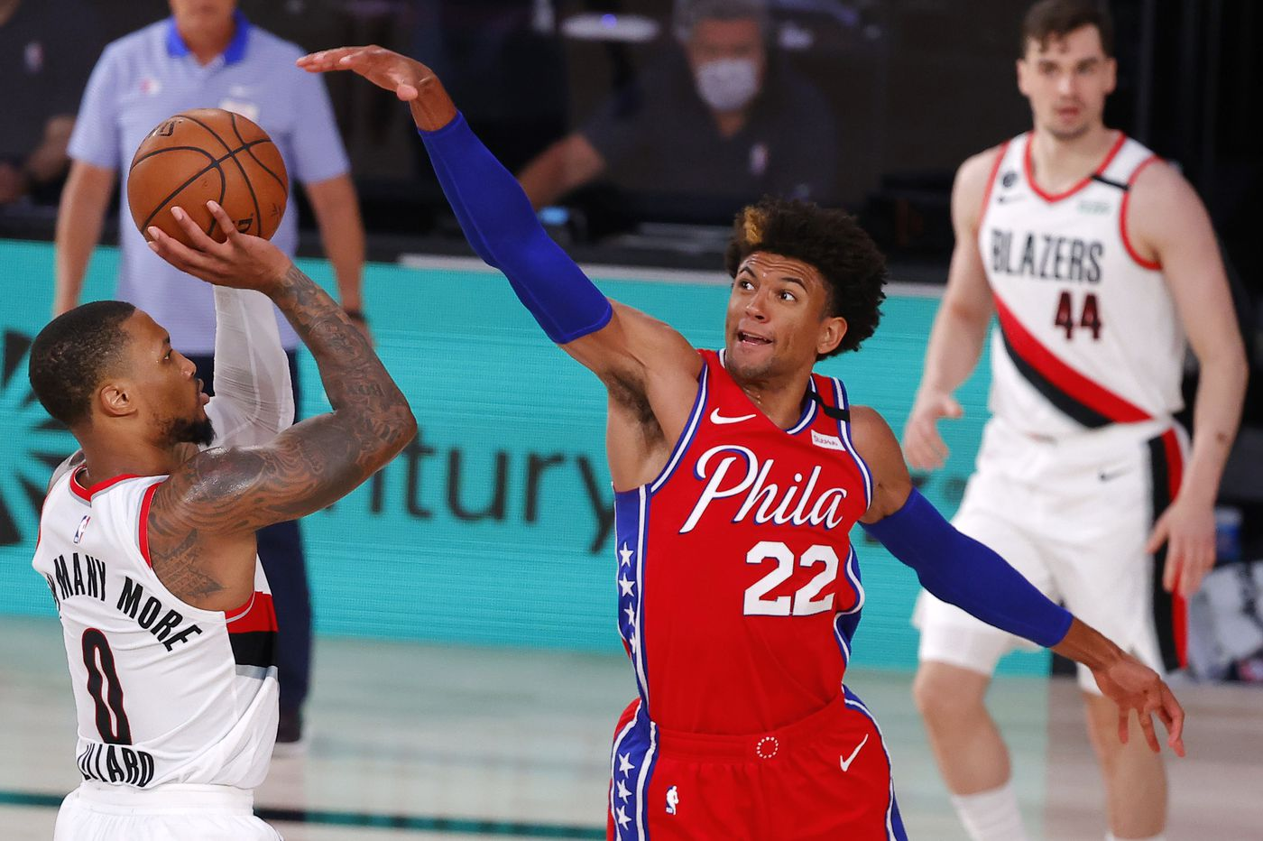 Sixers-Blazers best-worst: Damian Lillard's 51-point performance, Matisse Thybulle's steals, Joel Embiid's ankle injury