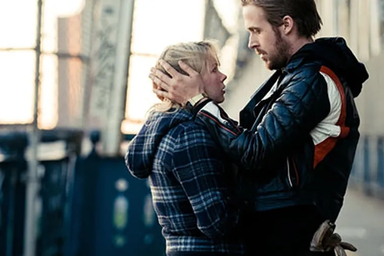 """Michelle WIlliams and Ryan Gosling in a scene from """"Blue Valentine,"""" which was partly filmed in King of Prussia."""