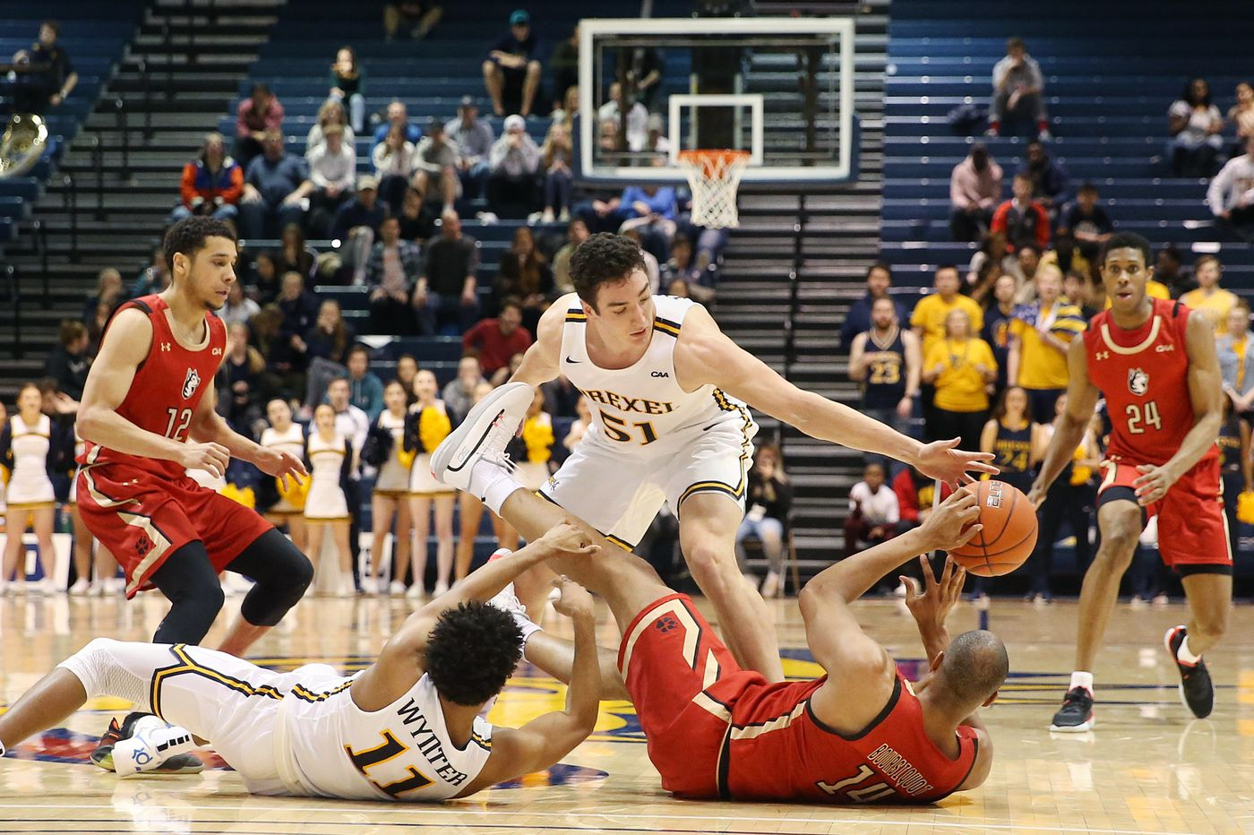City Six basketball: Drexel men fall to 0-2 in CAA play