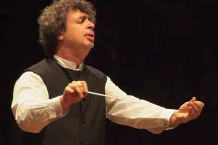 Semyon Bychkov, who first led the orchestra in 1986 at the Mann Center, will lead a program of Ravel, Dutilleux, and Dvorák.