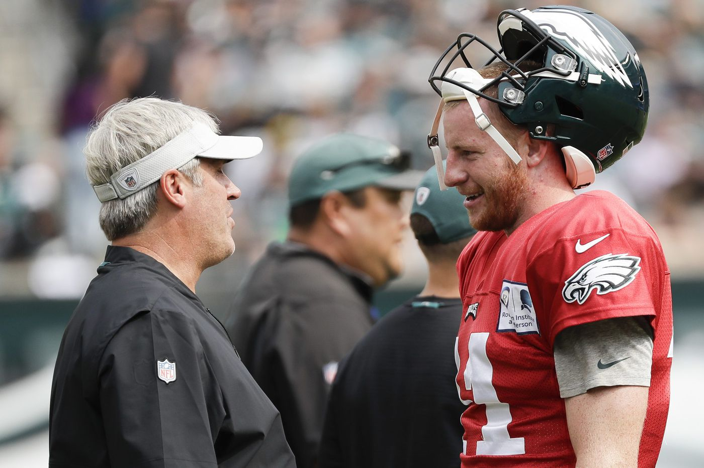 Carson Wentz's return 'still a medical issue' while Eagles await clearance