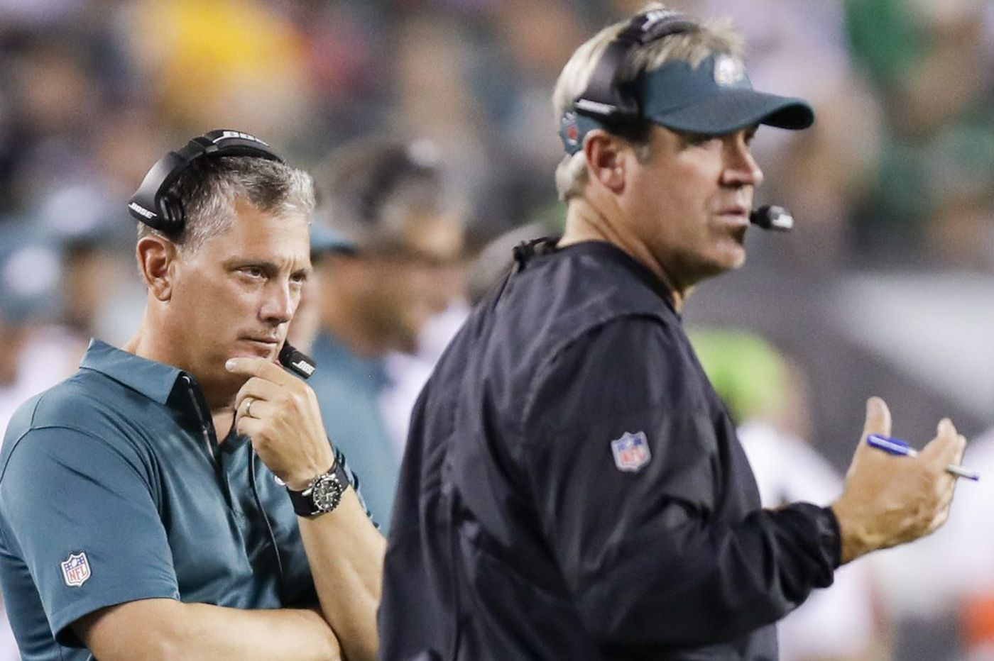 Eagles don't think less playing time in preseason games is a problem for starting defense