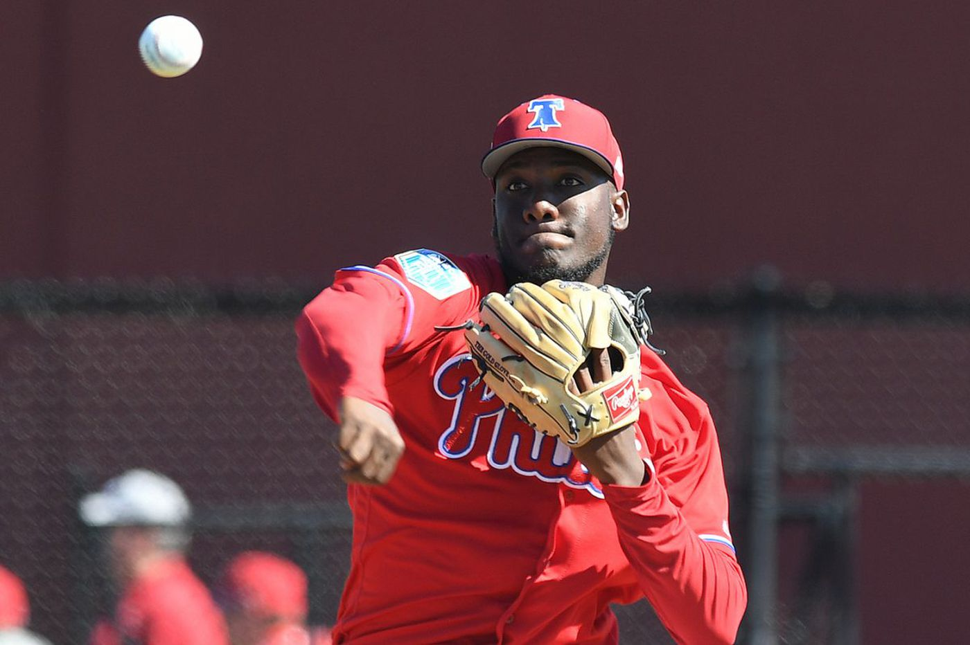 Phillies prospect Enyel De Los Santos is another arm to hope upon at spring training