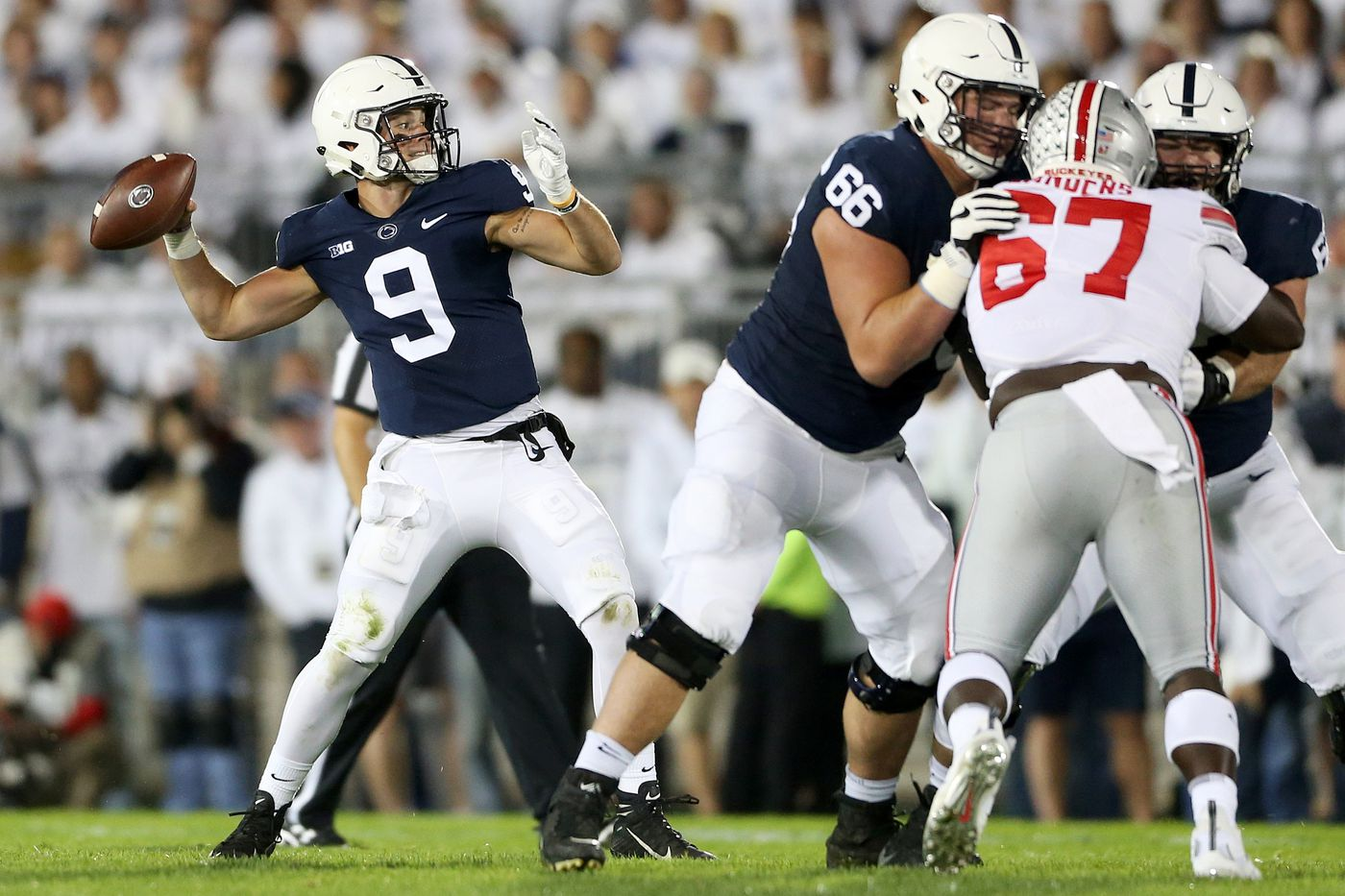 Penn State hopes to get its passing game together against Michigan State