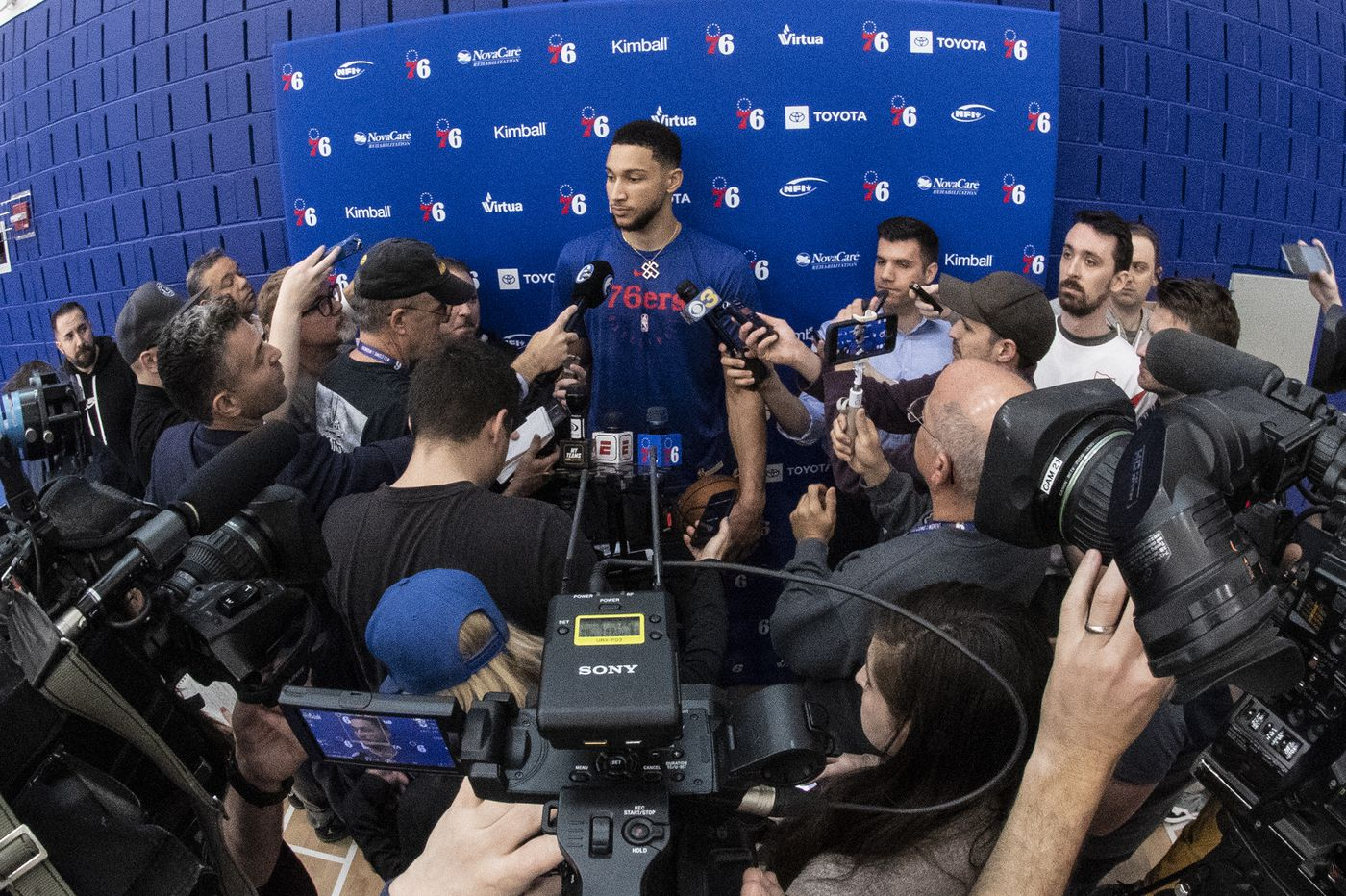 Sixers say nothing about report that Brett Brown is coaching for his job, Ben Simmons missed game due to partying