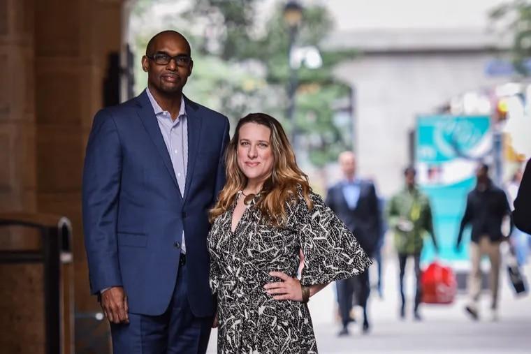 Gerald Veasley and Heather Blakesee helped organize this weekend's big Jazz Philadelphia Summit.