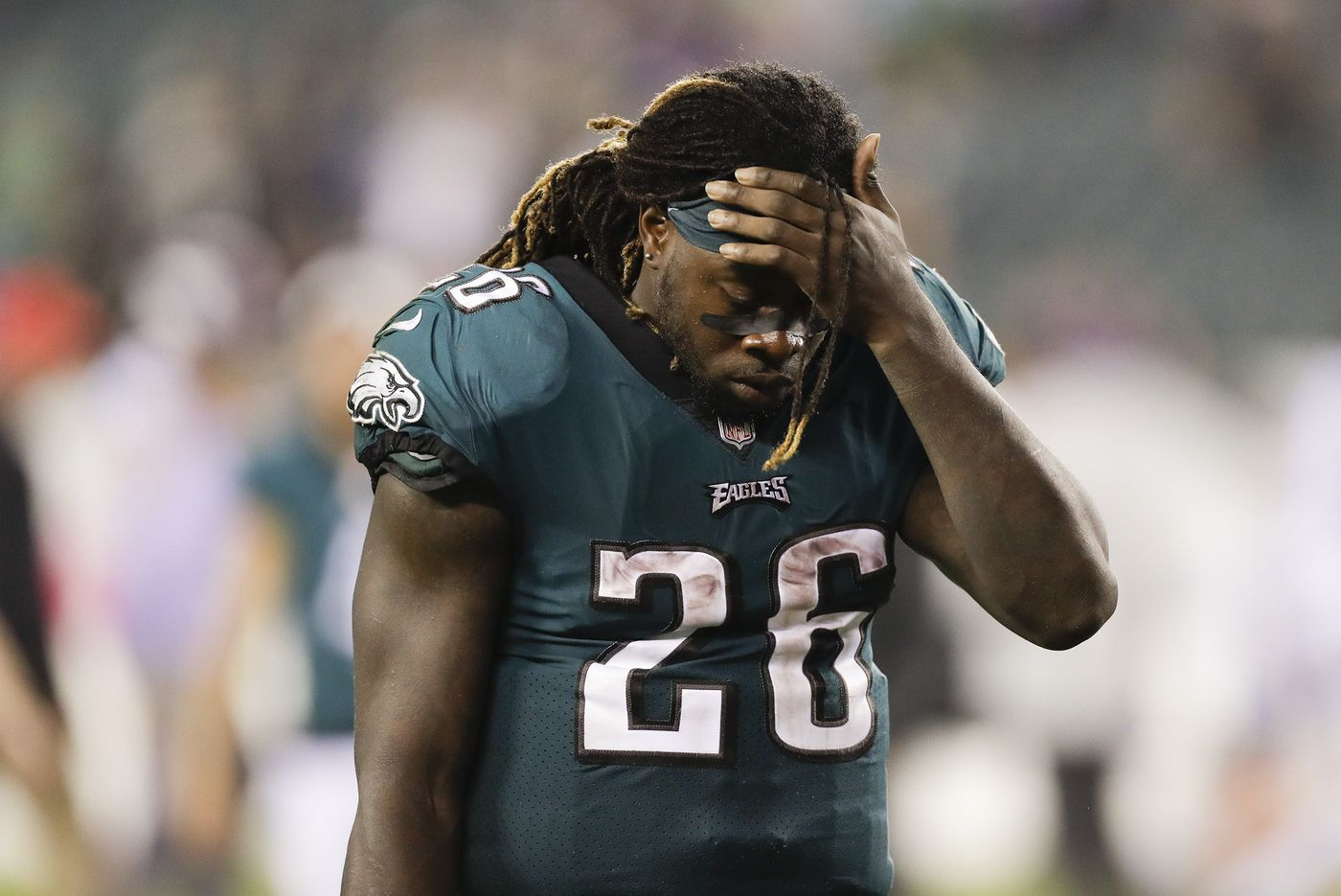 Which running backs have been linked to the Philadelphia Eagles?