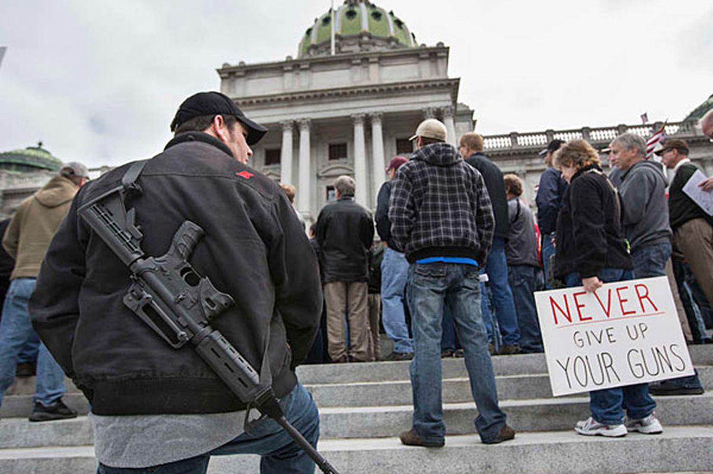 The Pennsylvania gun club holds a meeting