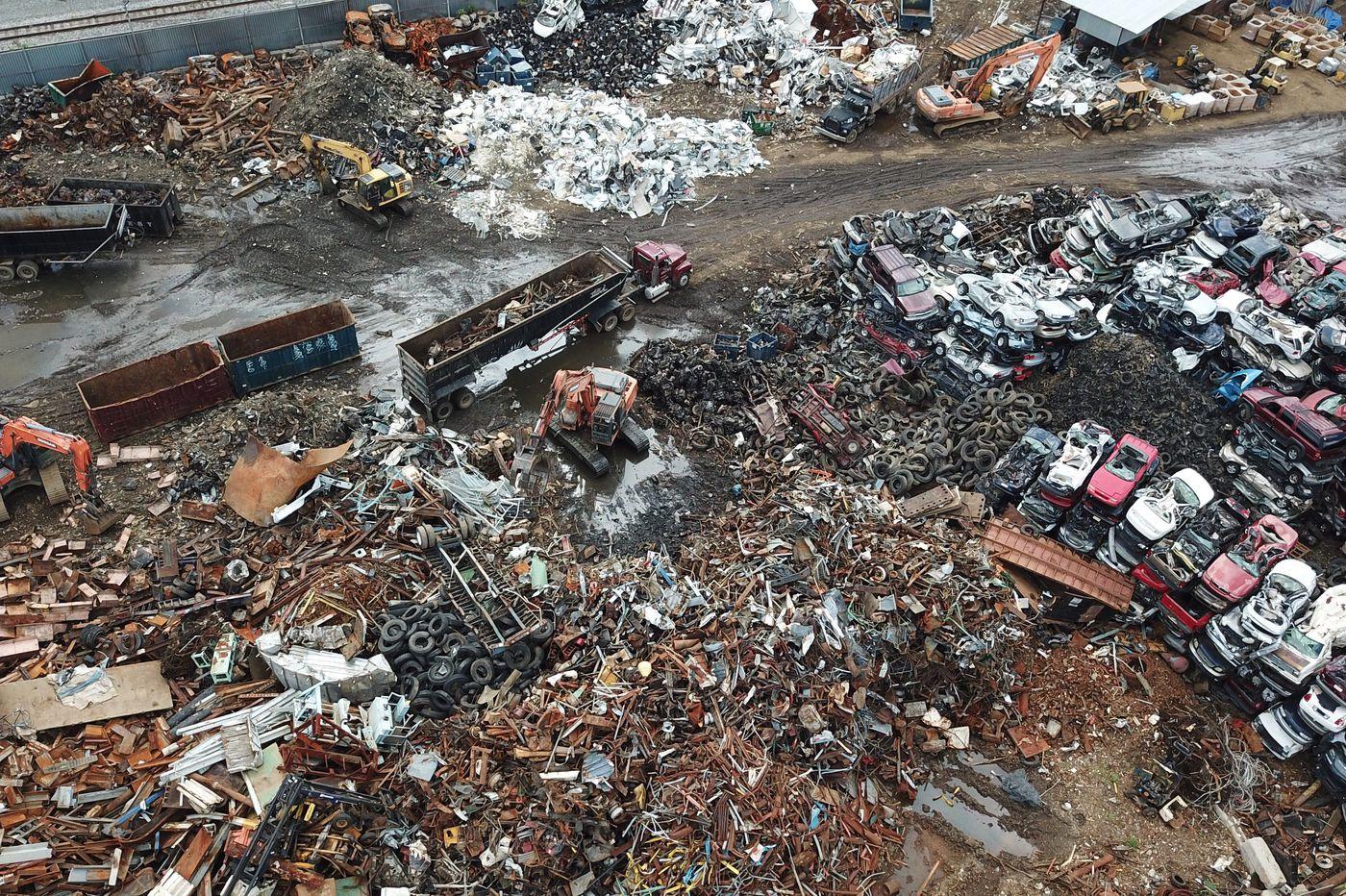 Philadelphia's junkyards are a dumpster fire