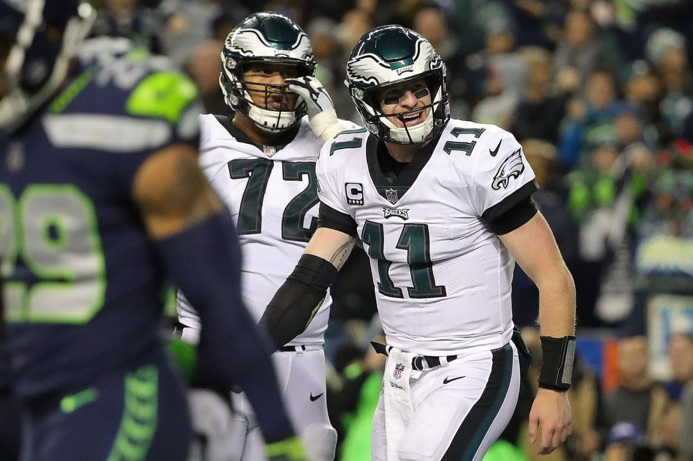 Grading the Eagles' loss to the Seahawks | Paul Domowitch