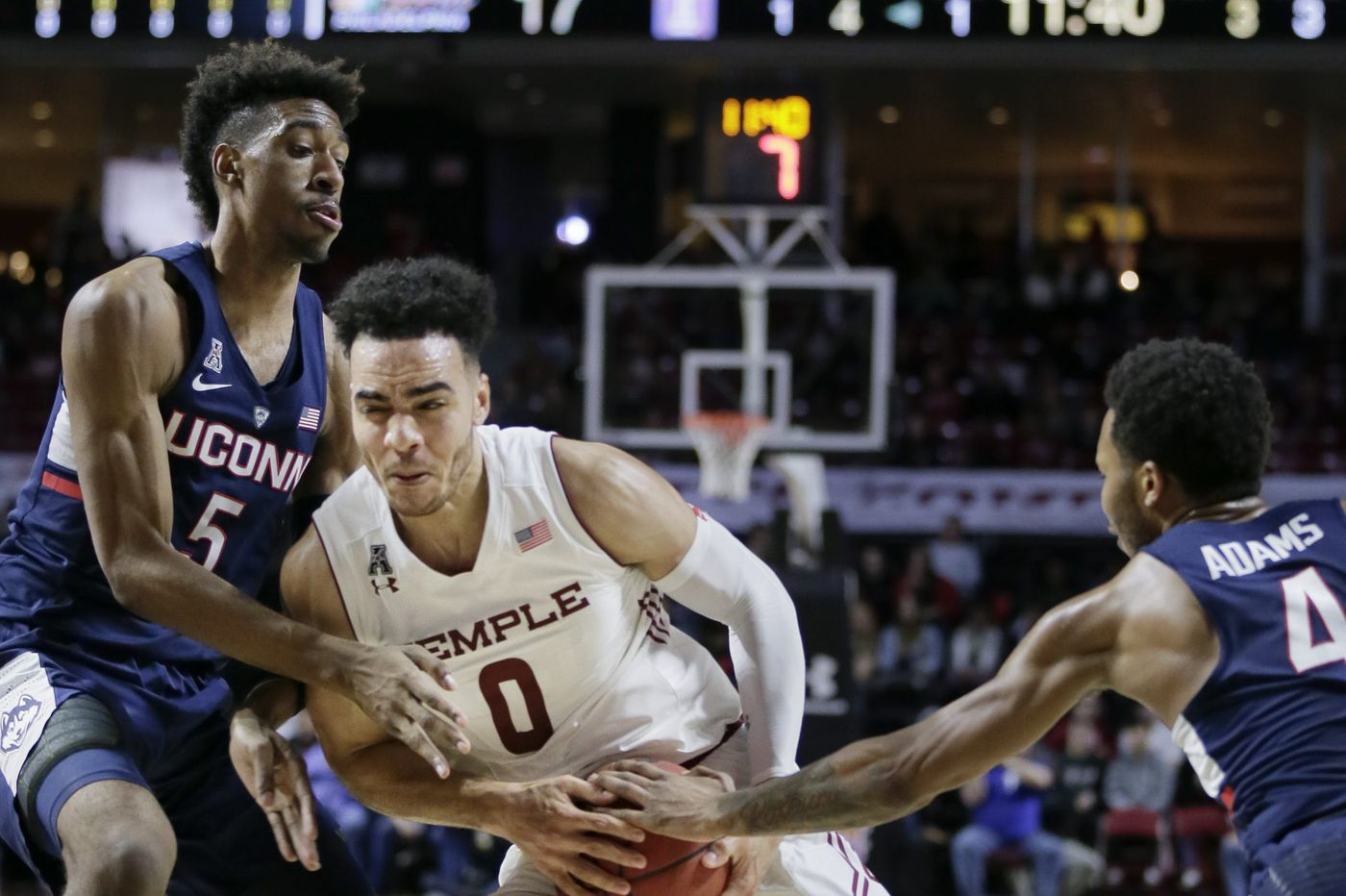 Temple's Obi Enechionyia to play for Pistons in NBA summer league