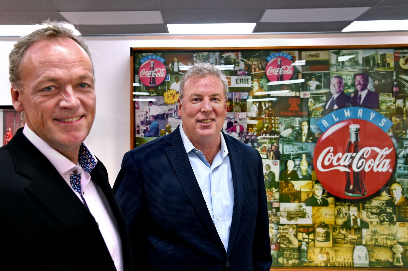 Liberty Coca-Cola bottling execs talk soda, taxes, and tea, and how to make their messages resonate in Philly