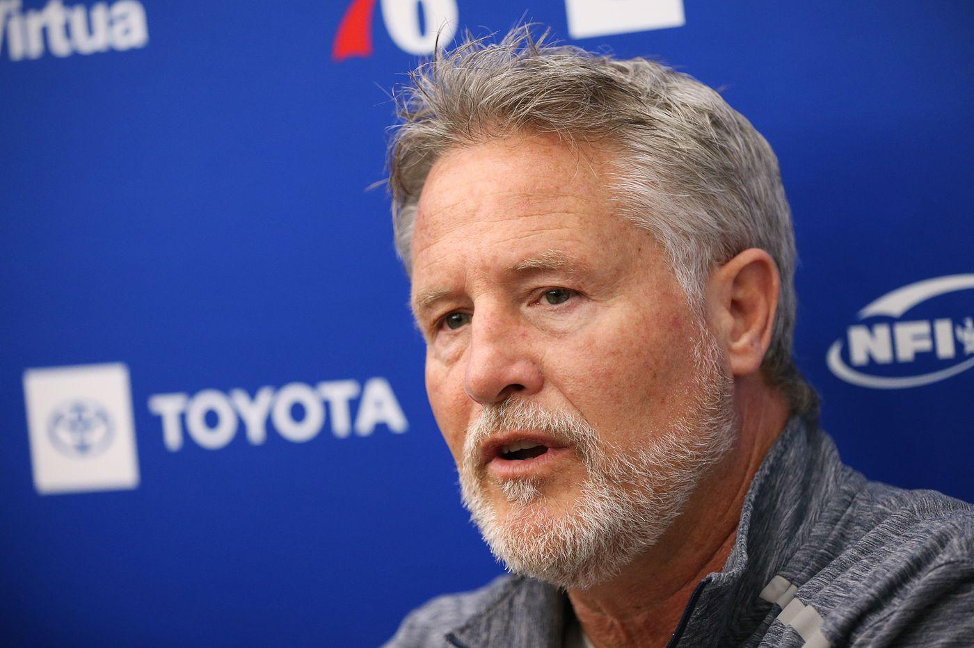 Brett Brown suggests multiple Sixers could guard Raptors star Kawhi Leonard