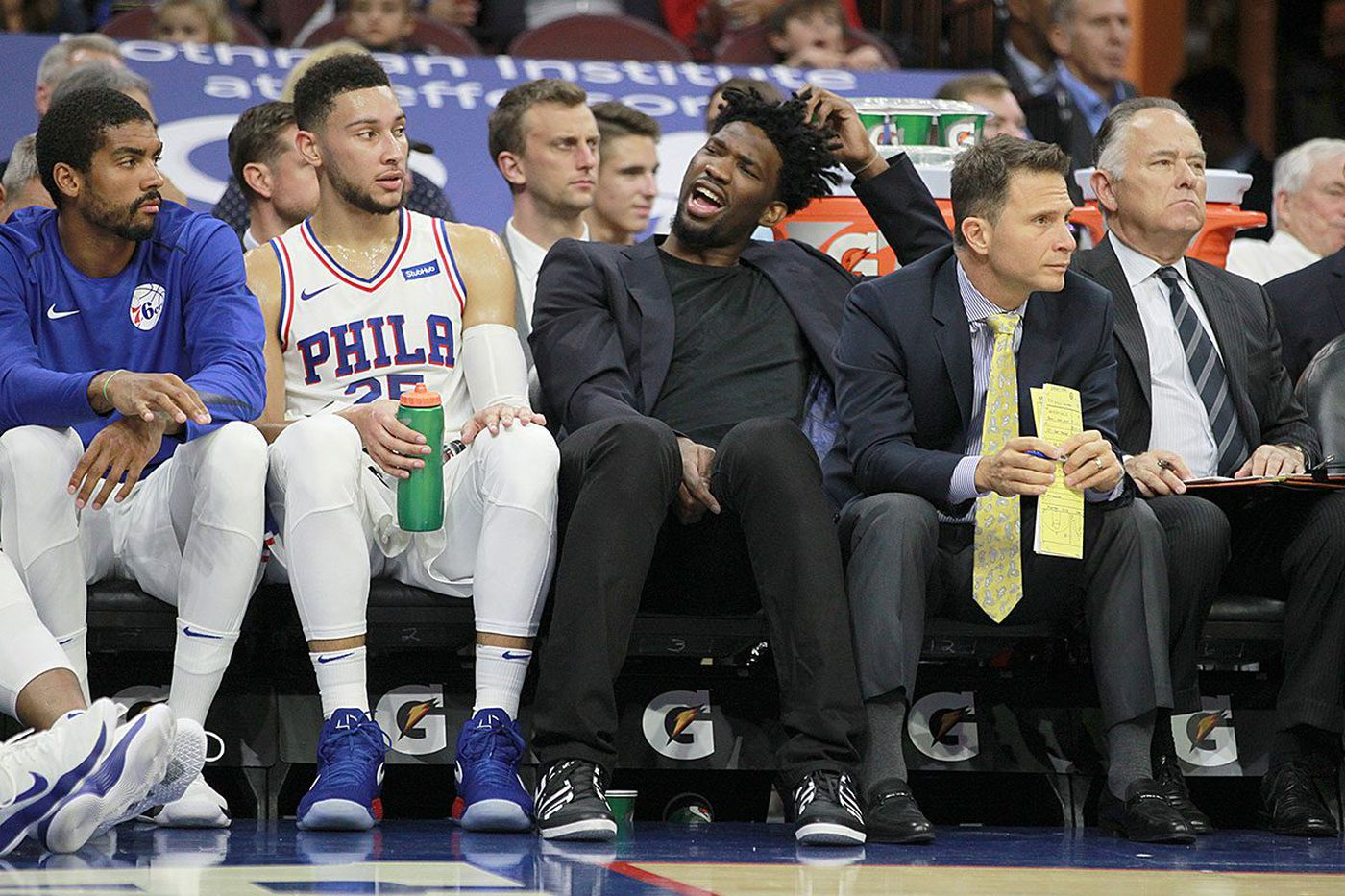 Sixers are interesting, but an unknown until they can embed Joel Embiid | Bob Ford