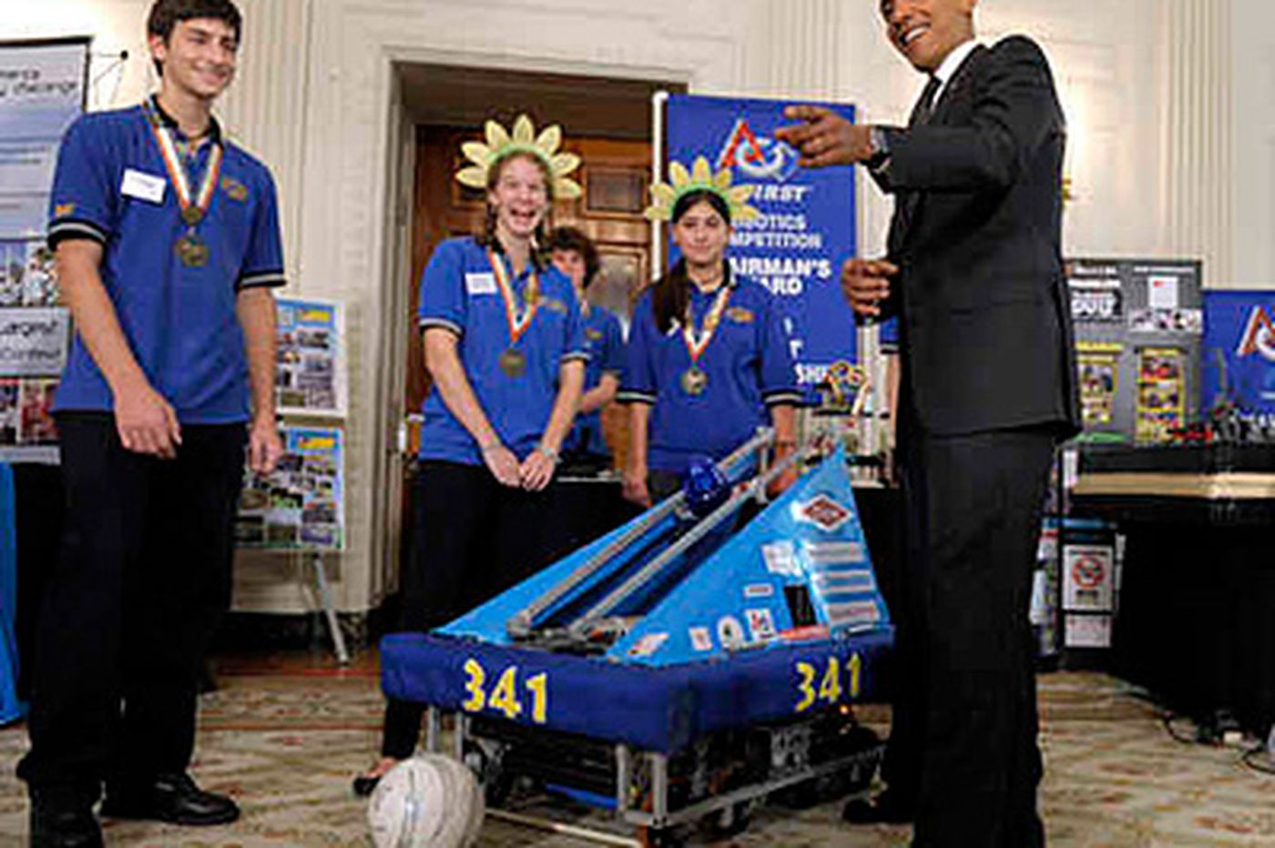 Philly-area students honored in White House Science Fair
