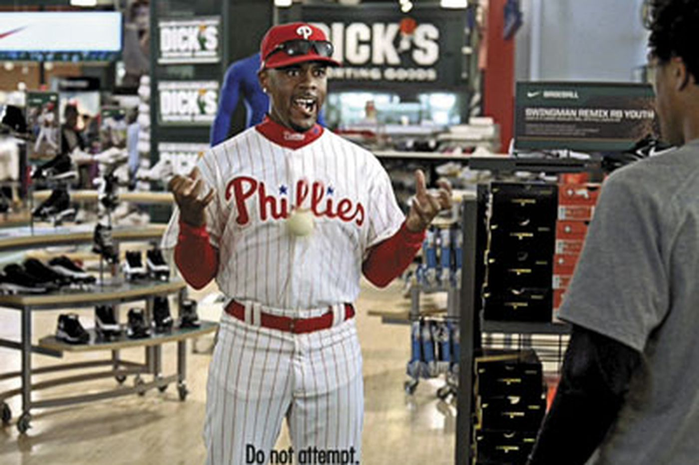 Jimmy Rollins has gut what it takes to sell shoes